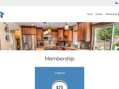 Custom Built Real estate website- Laravel