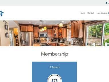 Custom Built Real estate website- Laravel
