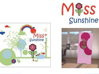Miss Sunshine - Logo recreation