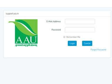 CMS for Anand Agricultural University (AAU)