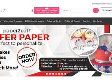 Paper2eat- Programming & customization of template - Magento