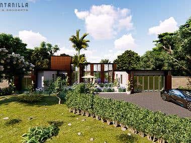 Residential Exterior Rendering