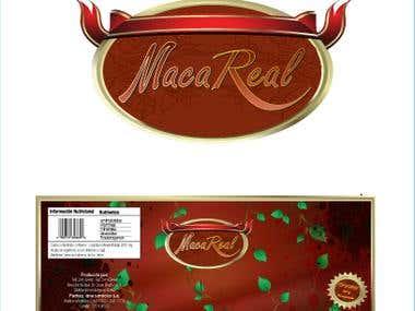 Maca Real - Logo design