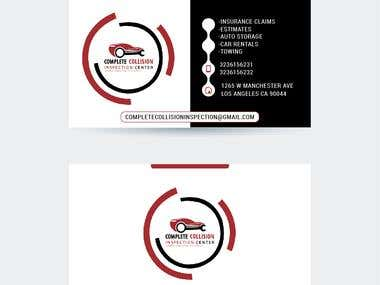 Auto Logo and business card
