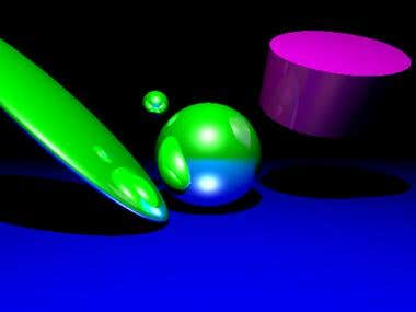 RayTracing, QT