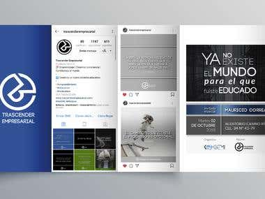 Branding and social media folio
