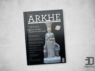 Arkhe Magazine - Cover design
