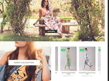 Pasha India - Wordpress