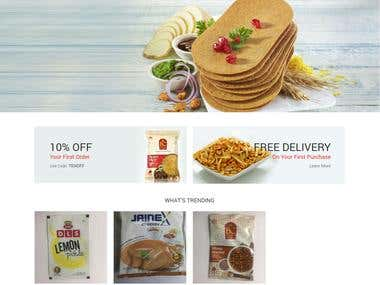 Sarda Distributors- Custom Wordpress
