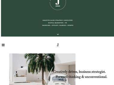 Jaimi-Lee Wordpress