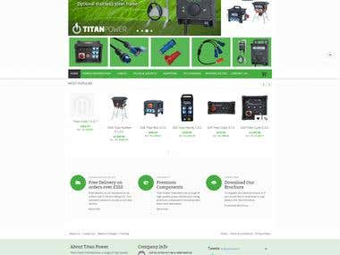 website Design - magento-2