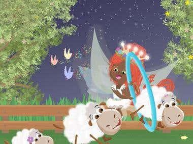 The Dream Fairy: A bedtime story