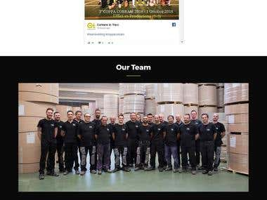 Multi Language Company Website (Cartiere di Trevi)