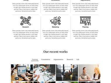 html5 webpage design
