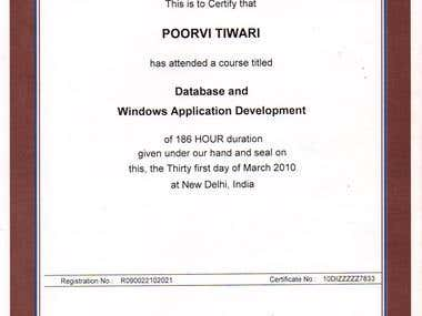 NIIT Certified Database Expert