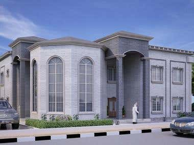 villa and Guest House for Saudi guy