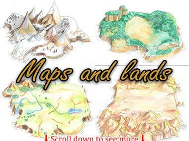 Maps and lands