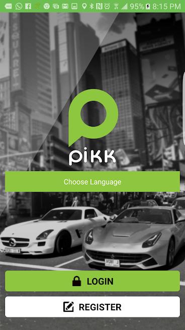 Pikk:- Driver and rider