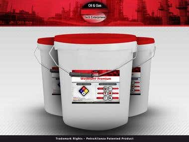 Sticker for WetRight Premium from Oil & Gas Tech Enterprises