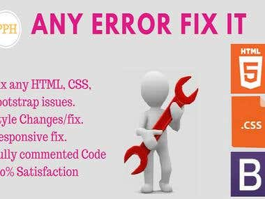 HTML, HTML5, CSS, Bootstrap