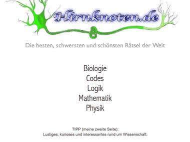 German Website - www.hirnknoten.de