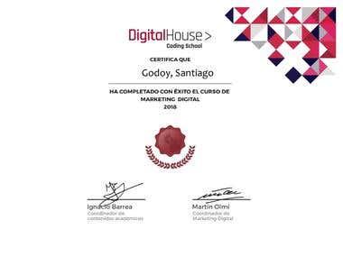 """Marketing Digital """"Digital house"""""""