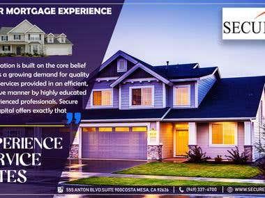 designed for a mortgage company