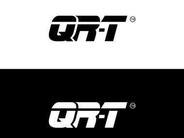 QR-T Funky Logo