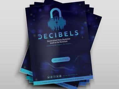 Brochure layout for Decibels
