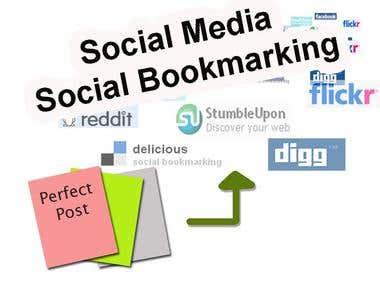 Dofollow social Bookmarking