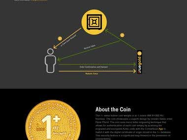 Truegold - Utility Token backed by Gold Coins