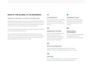 SharePoint website