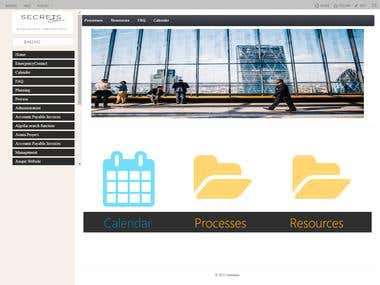 SharePoint Website Project
