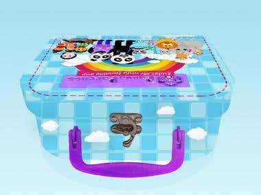 Panda Box Design