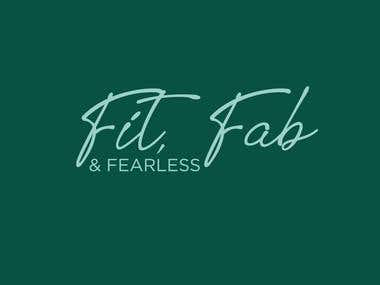 Fit,Fab & Fearless Logo