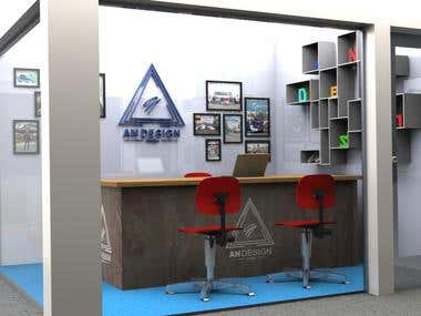 Simple room for your business room