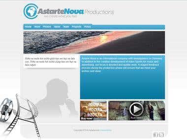 Astarte Nova - Website