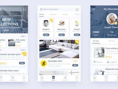Android + IOS UI Designs