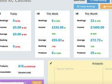 Admin Dashboard + System with CMS