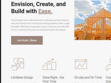 Kora Components Web Copy