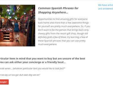Blog Post for Mayan Rentals LLC