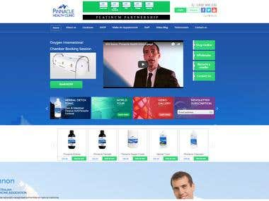 Pinnacle Clinic Website