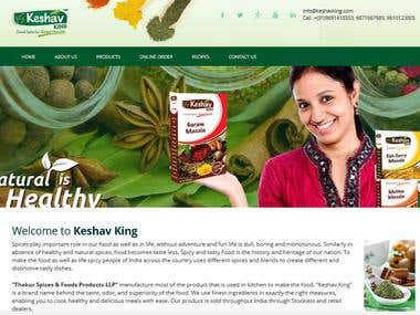 Keshavking Spice products