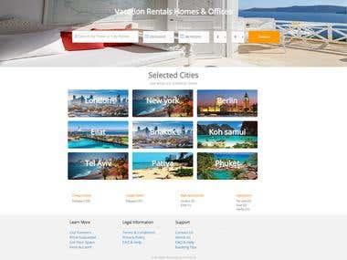 online booking site - Codegniter & Node