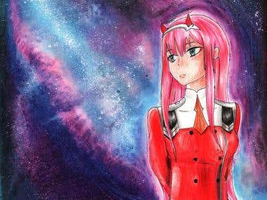 Zero Two Redraw