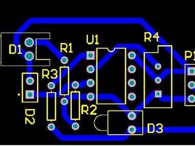 IR Module PCB Design