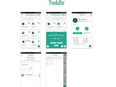 Toddle (Daycare Hybrid app)