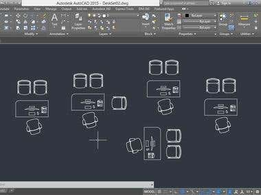 Autocad Layout Design
