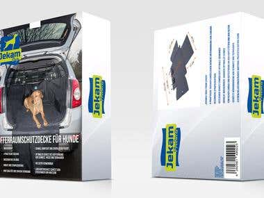 Jekam Dogs Box Design