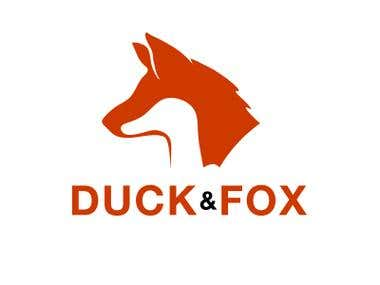 Duck and Fox Logo project